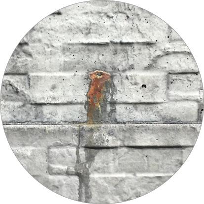 roestplekken onderplaat beton