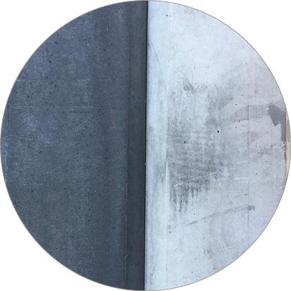 verkleuring antraciet betonschutting