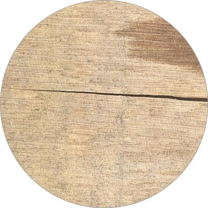 scheuren in eikenhout