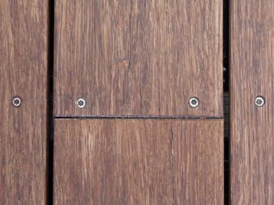 houten vlonderplanken maken