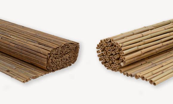 Bamboe schuttingen & bamboematten