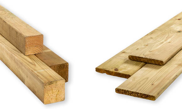 Geïmpregneerd hout