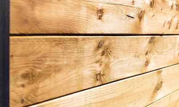 Rabatschutting grenenhout