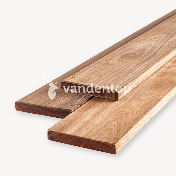 Hardhouten vlonderplank