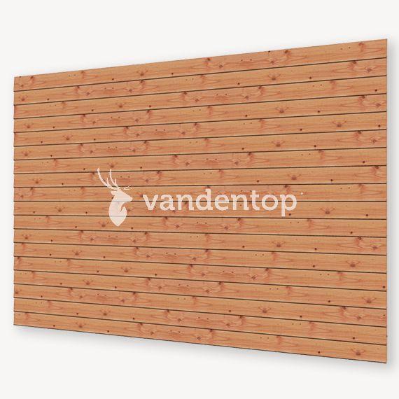 Wandmodule T | Blank douglas