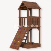 Speeltoren Siem met klimwand