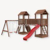 Speeltorens Siem brug, schommel & klimwand