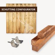 Vuren schutting configurator