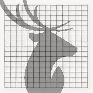 Gaaspaneel zwart   maas 10x10