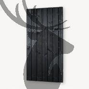 Tuindeur solide zwart