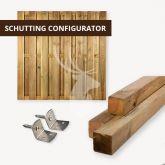 Grenen schutting configurator