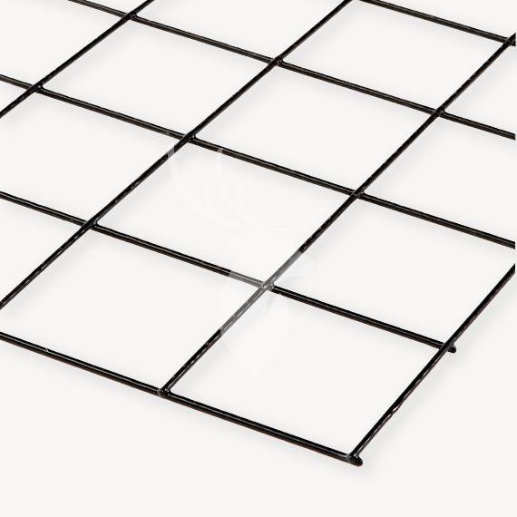 Gaaspaneel zwart | maas 10x10