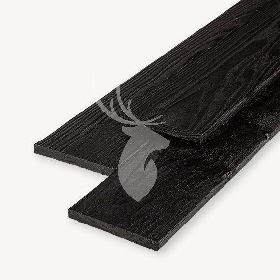 Douglas plank zwart