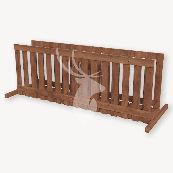 Houten brug speeltoestel